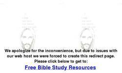 Screenshot of Free Bible Study Resources