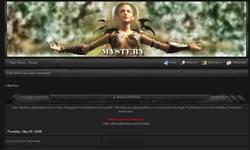 Screenshot of clan mystery