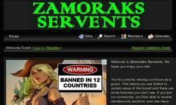 Screenshot of Zamoraks Servents