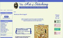 Screenshot of The Art of Stitching