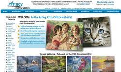 Screenshot of Artecy Cross Stitch