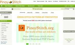 Screenshot of PinoyStitch