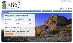 Screenshot of Albuquerque Real Estate for Sale