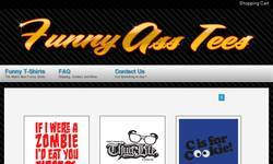 Screenshot of Funny Ass Tees - Funny T Shirt Shop