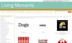 Screenshot of Living Moments Designs