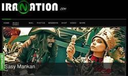Screenshot of IraNation.com