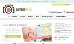 Screenshot of Photo Card Designs