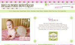 Screenshot of Bella Posh Bowtique