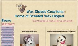 Screenshot of Wax Dipped Creations