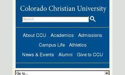 Screenshot of Top Colorado Graduate Programs are at Colorado Christian University