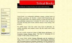 Screenshot of Telical Books