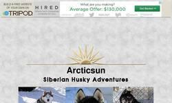 Screenshot of Arcticsun Siberian Huskies
