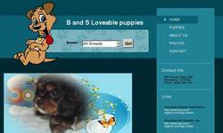 Screenshot of B and S Loveable Puppies