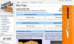 Screenshot of Leopard Gecko Wiki