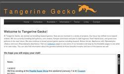 Screenshot of Tangerine Gecko