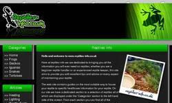 Screenshot of Reptiles-Info