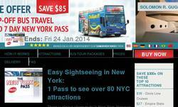 Screenshot of NYC Pass