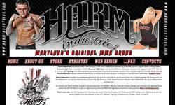 Screenshot of Harm Industries
