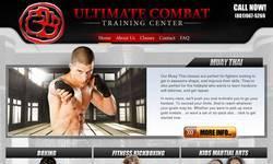 Screenshot of www.ultimatecombat.com