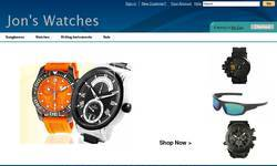 Screenshot of Discount Watches: Swiss Army Oakley Bulova Fossil Seiko Croton & more!