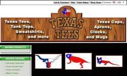 Screenshot of Texas Tees