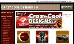 Screenshot of Crazy Cool Designs 4U