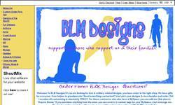 Screenshot of BLM Military & Love Designs