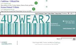 Screenshot of 4u2wear2 Online Store