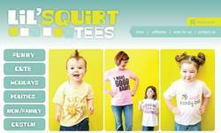 Screenshot of Lil' Squirt Tees