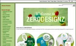 Screenshot of ZERODESIGNZ