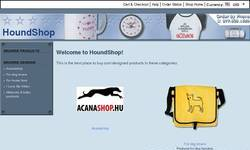 Screenshot of HoundShop