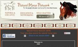Screenshot of Natural Horse Network