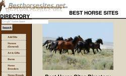 Screenshot of Best Horse Sites Directory