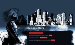 Screenshot of DemonicGunz