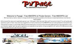Screenshot of Pvpage MMO MMORPG Free Online Private Servers