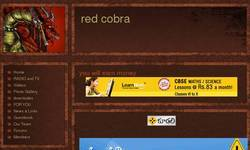 Screenshot of red cobra