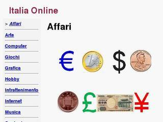 Screenshot of Affari Online
