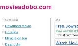Screenshot of movieadobo