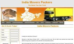 Screenshot of Movers Packers India
