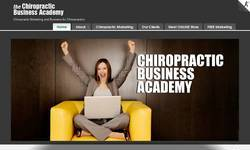 Screenshot of chiropractic marketing