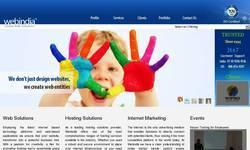 Screenshot of webindia
