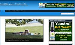 Screenshot of Candida Yeast Treatments