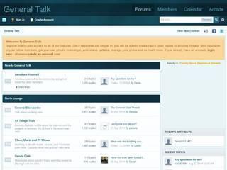 Screenshot of General Talk - Discussion Forum
