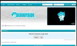Screenshot of Discussion Lounge